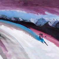 Tele Skier Art Prints & Posters by Steve Kiene