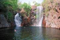 Florence Falls in Litchfield Park, Australia.