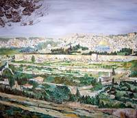 LOOKING AT JERUSALEM