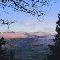 Mountain Morning by Faye Cummings