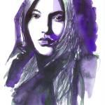 Purple Glove Prints & Posters