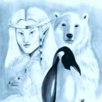 Winter Friends Art Prints & Posters by Hannah Robertson