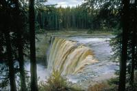 Alexandra Falls on Hay River in Canada
