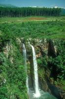 Eastern Transvall Mountains Waterfall in Africa