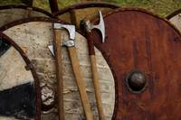 Viking Shields and Axes