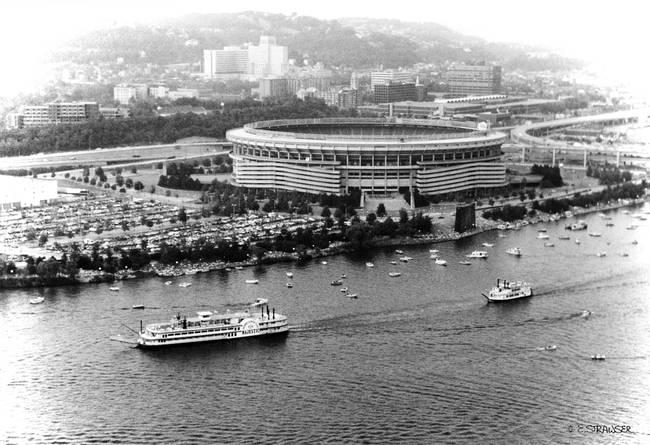 Stunning Quot Three Rivers Stadium Quot Artwork For Sale On Fine