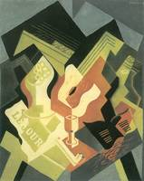 Guitar and Fruit Bowl [2] by Juan Gris