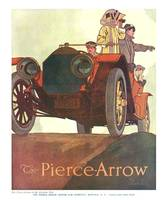 1911 Pierce-Arrow - At the Aviation Meet