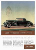 1934 Packard - A Famous Slogan Goes To Work