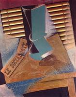 The blind by Juan Gris