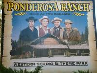 WELCOME SIGN TO PONDEROSA RANCH PARK