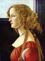 Portrait of the Simonetta Vespucci