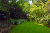 In the Hycroft Gardens, Vancouver BC by Priscilla Turner