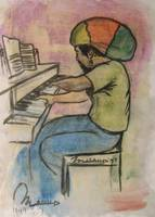 reggae piano man