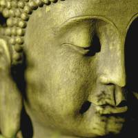 garden Buddha by Connie Yost