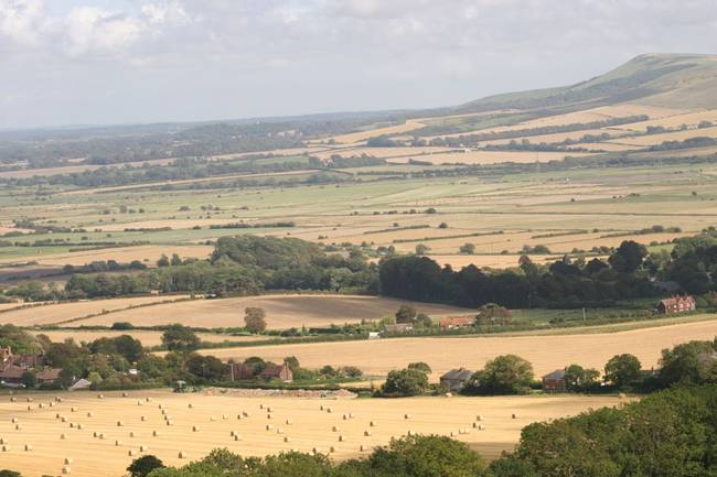 View towards Firle Beacon