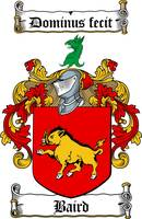 baird family crest baird coat of arms