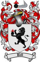 ball family crest ball coat of arms