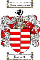 barrett family crest barrett coat of arms