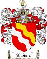 brewer family crest brewer coat of arms