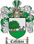 CALLAHAN FAMILY CREST -  CALLAHAN COAT OF ARMS
