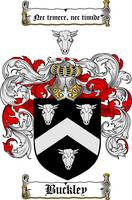 BUCKLEY FAMILY CREST - COAT OF ARMS
