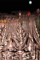 Champagne Glasses under Fullmoon