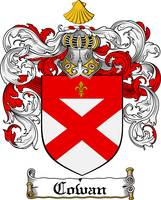COWAN FAMILY CREST - COAT OF ARMS