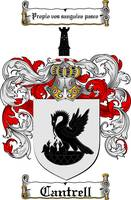 CANTRELL FAMILY CREST - COAT OF ARMS
