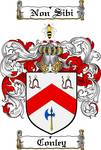 CONLEY FAMILY CREST - COAT OF ARMS