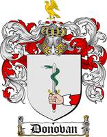 DONOVAN FAMILY CREST - COAT OF ARMS