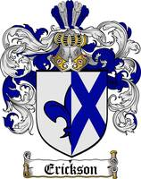 ERICKSON FAMILY CREST - COAT OF ARMS