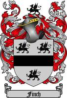 FINCH FAMILY CREST - COAT OF ARMS