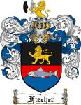 FISCHER FAMILY CREST - COAT OF ARMS