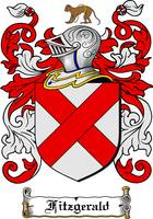 FITZGERALD FAMILY CREST - COAT OF ARMS