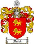 HATCH FAMILY CREST - COAT OF ARMS