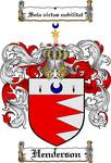 HENDERSON FAMILY CREST - COAT OF ARMS