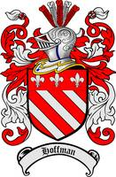 HOFFMAN FAMILY CREST - COAT OF ARMS