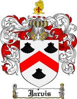 JARVIS FAMILY CREST - COAT OF ARMS
