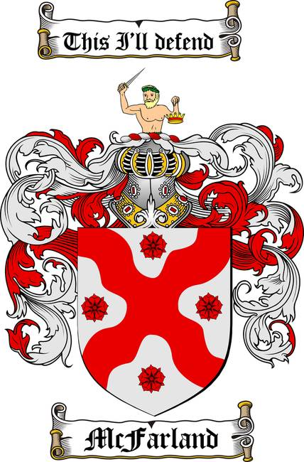 MCFARLAND FAMILY CREST - COAT OF ARMS