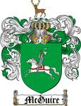 MCGUIRE FAMILY CREST - COAT OF ARMS