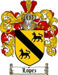 LOPEZ FAMILY CREST - COAT OF ARMS