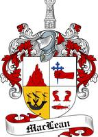 MACLEAN FAMILY CREST - COAT OF ARMS