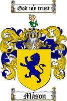 MASON FAMILY CREST - COAT OF ARMS