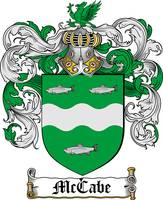 MCCABE FAMILY CREST - COAT OF ARMS