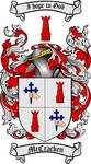 MCCRACKEN FAMILY CREST - COAT OF ARMS