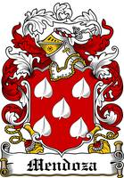 MENDOZA FAMILY CREST - COAT OF ARMS
