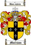 MORRISON FAMILY CREST - COAT OF ARMS