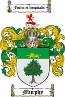 MURPHY FAMILY CREST - COAT OF ARMS