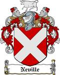 NEVILLE FAMILY CREST - COAT OF ARMS